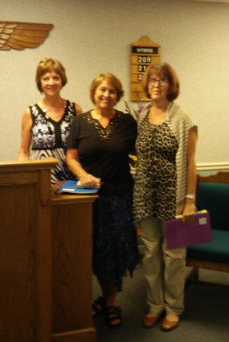 new members at Unity Community Church