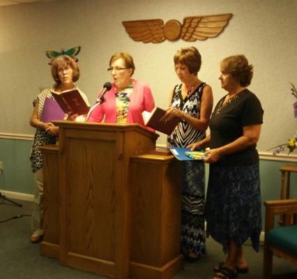 new members at Unity Community Church