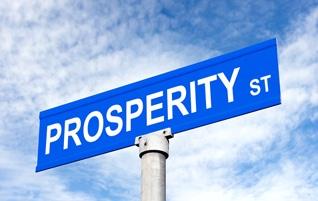 prosperity sign